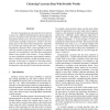 Clustering Uncertain Data with Possible Worlds