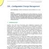 CM - Configuration Change Management