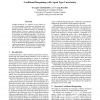 Coalitional Bargaining with Agent Type Uncertainty