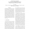 Code Security Analysis of a Biometric Authentication System Using Automated Theorem Provers