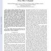 Coded Adaptive Linear Precoded Discrete Multitone Over PLC Channel