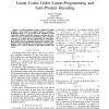 Codeword-Independent Performance of Nonbinary Linear Codes Under Linear-Programming and Sum-Product Decoding