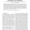 Cognitive Medium Access: Exploration, Exploitation and Competition
