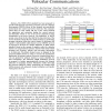 Cognitive Radio Enabled Multi-Channel Access for Vehicular Communications