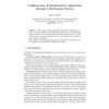 Collaboration of Metaheuristic Algorithms through a Multi-Agent System
