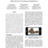 Collaborative end-user development on handheld devices