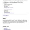 Collaborative Multimedia in SHASTRA