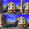 Real-time content-aware image resizing using reduced linear model