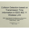Collision Detection based on Transmission Time Information in IEEE 802.11 Wireless LAN
