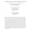 Combinatorics and Geometry of Finite and Infinite Squaregraphs
