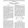 Combining cluster sampling with single pass methods for efficient sampling regimen design