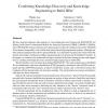 Combining Knowledge Discovery and Knowledge Engineering to Build IDSs