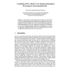 Combining OWL with RCC for Spatioterminological Reasoning on Environmental Data