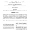 Combining Seminorms in Adaptive Lifting Schemes and Applications to Image Analysis and Compression