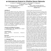 Combustible gases and early fire detection: an autonomous system for wireless sensor networks