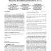 Commitments with regulations: reasoning about safety and control in REGULA