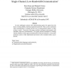 Communication in Domains with Unreliable, Single-Channel, Low-Bandwidth Communication