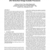 Communication speed selection for embedded systems with networked voltage-scalable processors