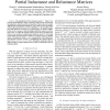 Compact and stable modeling of partial inductance and reluctance matrices