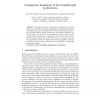 Comparative Evaluation of Two Scalable QoS Architectures