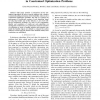 Comparing bio-inspired algorithms in constrained optimization problems