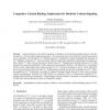 Competitive Calcium Binding: Implications for Dendritic Calcium Signaling