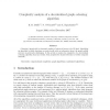 Complexity analysis of a decentralised graph colouring algorithm