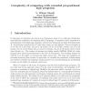 Complexity of Computing with Extended Propositional Logic Programs