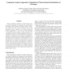 Component analysis approach to estimation of tissue intensity distributions of 3D images