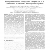 Component-Based Design and Integration of a Distributed Multimedia Management System