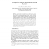 Component Behavior Synthesis for Critical Systems,