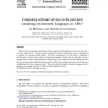 Composing software services in the pervasive computing environment: Languages or APIs?