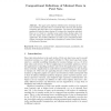 Compositional Definitions of Minimal Flows in Petri Nets