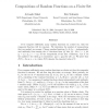 Compositions of Random Functions on a Finite Set