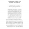 Compression and Intelligence: Social Environments and Communication