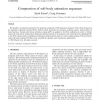 Compression of soft-body animation sequences