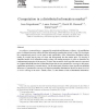 Computation in a distributed information market