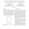 Computation of Binary Objects Sides Number using Discrete Geometry, Application to Automatic Pebbles Shape Analysis