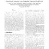 Computational Anatomy to Assess Longitudinal Trajectory of Brain Growth