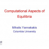 Computational Aspects of Equilibria