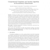 Computational Complexity and Anytime Algorithm for Inconsistency Measurement