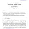 Computational Effects in Topological Domain Theory