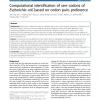 Computational identification of rare codons of Escherichia coli based on codon pairs preference