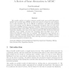 Computational methods for complex stochastic systems: a review of some alternatives to MCMC