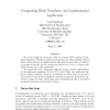 Computing Betti Numbers via Combinatorial Laplacians