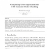 Computing Over-Approximations with Bounded Model Checking