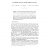 Computing shortest paths with uncertainty