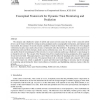 Conceptual framework for dynamic trust monitoring and prediction
