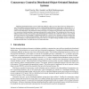 Concurrency Control in Distributed Object-Oriented Database Systems
