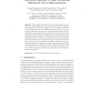 Concurrent Inference of Topic Models and Distributed Vector Representations